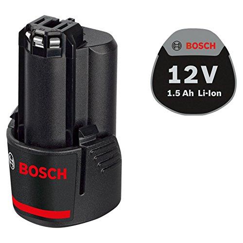 Bosch Professional 12V Akku (GBA 1, 5 Ah, kompatibel mit 12V) 1600Z0002W