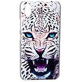 Guran® Plástico Hard Funda Cascara para UleFone Paris Smartphone Bumper PC Case Cover-Leopardo