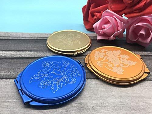 Andre Home Interessantes Spielzeug Mini Runde Metall Kleine Glasspiegel Kreise für Handwerk...