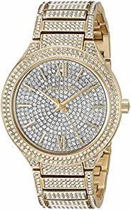 Michael Kors Womens Quartz Watch, Analog Display and Stainless Steel Strap MK3360