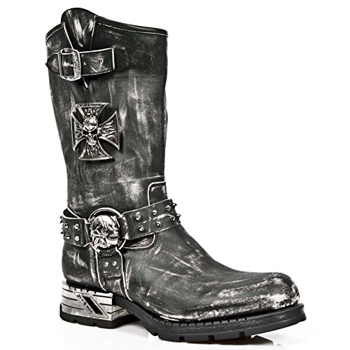 New Rock Herren M Mr030 S2 Stiefel Schwarz