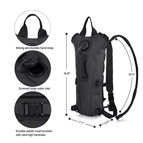 Imagen de vbiger  de hidratacion para trail running / bicicleta / ciclismo negro, 3l  alternativa