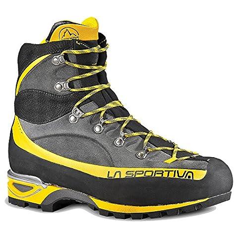 La Sportiva Trango Alp Evo GTX Alpine Climbing Boot (GREY/YELLOW, 43)