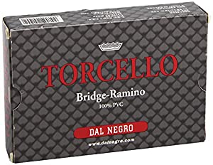 Dal Negro-DAL - Tarjeta Ramino Torcello All Plastic 24100, Color One Colour, 024100