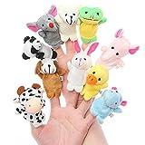 #5: Catterpillar Set Of 10 Animal Finger Puppets