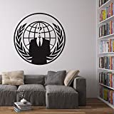 Vinyl Revolution Anonymous Logo Wall Art Wandaufkleber/Wandtattoo