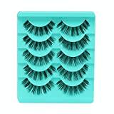 Feytuo Big sale! 5 Pair/Lot Crisscross False Eyelashes Lashes Voluminous Hot Eye Lashes