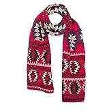 OHQ Damen Schals Kaschmir Foulard mit einem armband groß rechteckig Spitz Schal Halstuch Oversized
