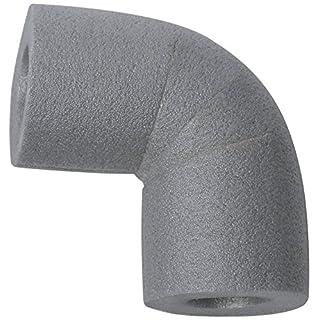 CLIMAPOR Bogen 90° zu Rohrisolierungen PE 22/13, grau, 10 Stück