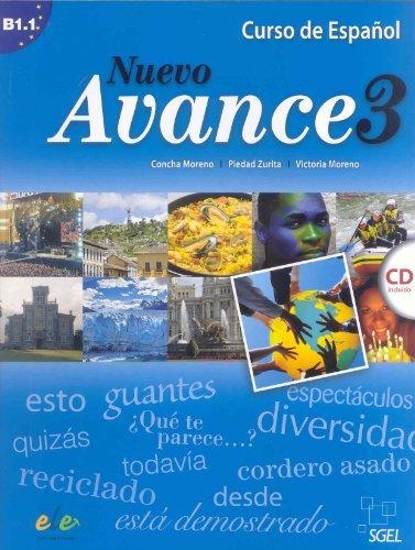 Nuevo Avance 3 Student Book + CD B1.1 by Concha Moreno (2010-06-30)