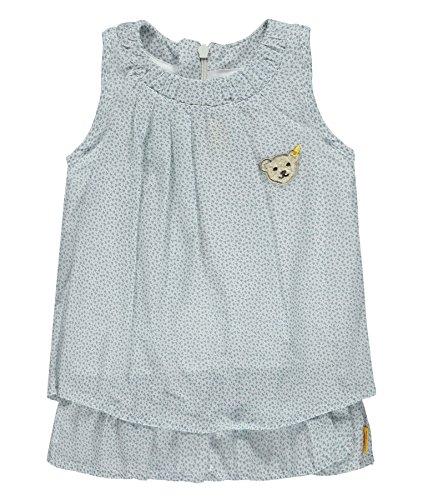 Steiff Baby-Mädchen Kleid O. Arm, Mehrfarbig (Allover 0003), 86