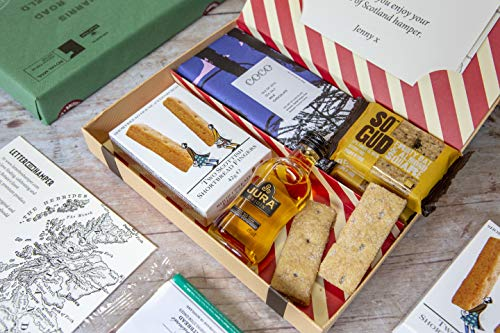 Best of Scotland Letter Box Hamper - All Scottish Produce - Hassle Free, Simple delivery Through The Letter Box - Worldwide delivery