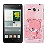 kwmobile Cover per Huawei Ascend Y530 - Custodia Rigida in plastica Dura - Hard Case Back Cover Protettiva per Smartphone Huawei Ascend Y530