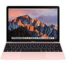 Apple MNYM2HN/A 12-inch Laptop (Core M3/8GB/256GB/Mac OS/Integrated Graphics), Rose Gold