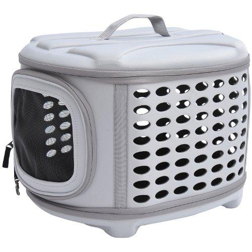 Transportin Mascotas 46x37x31cm Bolsa Transporte Perro Gato EVA y Forr