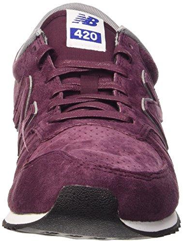 New Balance Herren Nbu420ppb Sneaker rot (Pigskin/Perf. Burgundy)