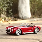 #2: Red Color ld Toys Die-cast 1:32 Shelby SHELBY COBRA427 classic vintage racing car convertible alloy Vintage car models
