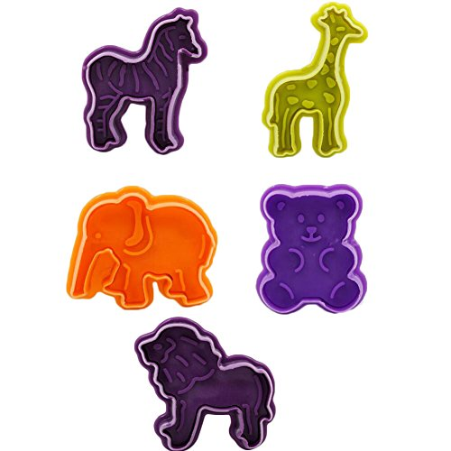 s-und-Stempel Ausstechformen Set von 5 zufällige Farbe (Halloween-kuchen-schimmel Uk)