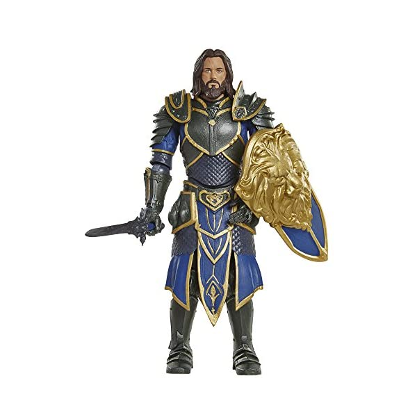Warcraft 6 Lothar action Figure With Accessory by Warcraft 2
