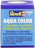 Revell 18ml Aqua Color Acrylic Paint (Steel Metallic Finish)
