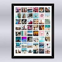 Cuadro Collage 48 fotos, Incluye Marco de Madera. Inmortaliza tus más bellas fotografías en