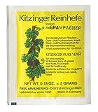 CHAMPAGNE LEVURE DE VIN Kitzinger - Levure sèche | Levure de Fermentation | Levure Nutritive | Levure Mead | Nutritif | Levure Rapid | Levure de bière | Produits oenologique