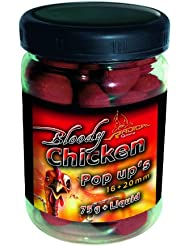 Quantum Radical Pop Up Bloody Chicken Bouillettes arôme poulet Rouge/marron 0,075 kg