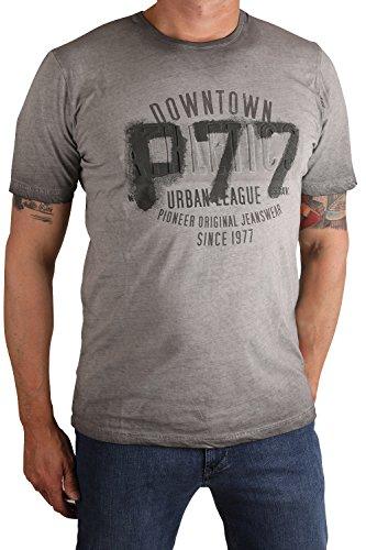 Pioneer Herren T-Shirt Grey Rock(191)