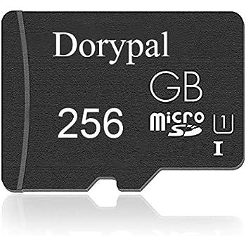 Dorypal Tarjeta Micro SD 256 GB Ultra Tarjeta de Memoria Micro SD Durable Memory Card Ideal para Cámaras, Teléfonos Inteligentes Android y Tabletas,U1