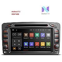 freeauto para Mercedes Benz W209Vaneo Viano Vito C A GLK G Series Android 7.17pulgadas coche reproductor de DVD GPS Radio estéreo sistema de navegación