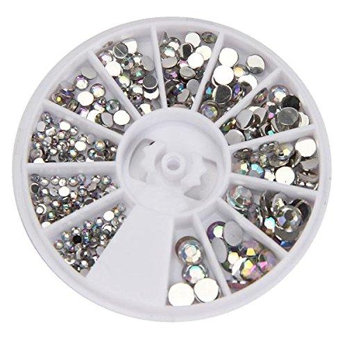 Vernis à ongles Internet Cycle 3D acrylique Nail Art Pierres Précieuses strass cristal DIY Décoration de