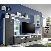 amazon.it: mobili soggiorno componibili - Soggiorno Blu E Bianco
