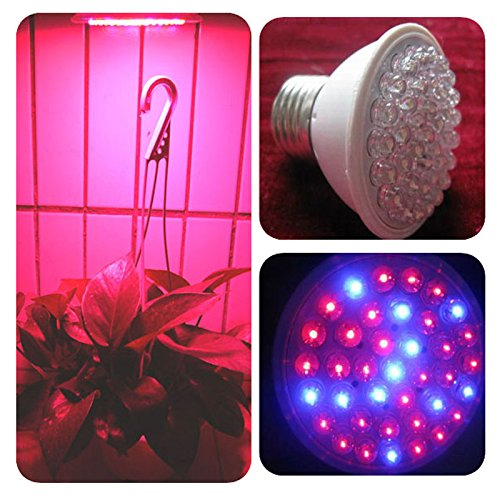 Dxlta Rot Blau 38 LED Wachsende Glühbirne Leuchtmittel Hydroponischen Pflanzen Lampen Energiespar Gewächshäuser Werkzeug