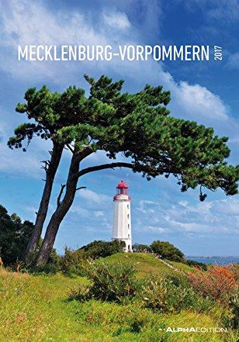 Preisvergleich Produktbild Mecklenburg-Vorpommern 2017 - Bildkalender (24 x 34) - Landschaftskalender