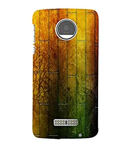 perfect print Back cover for Motorola Moto Z force