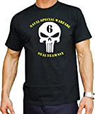 T-Shirt black, US Navy Seal - Team Six