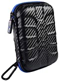#8: GoFree Double Protection [Armor Hard Disk Carrying Case] - Ribbed Shock Proof HDD Case (for Portable External USB Hard Drive) - Compatible with WD Elements / My Passport Ultra / Seagate Back Up Plus Slim / Transcend StoreJet / Toshiba Canvio Basics /Etc.