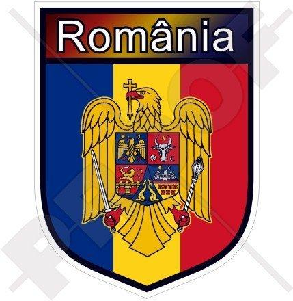 RUMÄNIEN Rumänien Schild Rumäniens 100mm Auto & Motorrad Aufkleber, Vinyl Sticker