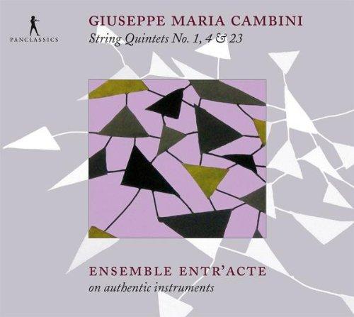 Cambini: Streichquinette Nr. 1, 4 & 23