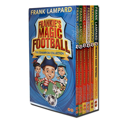 Frankies Magic Football Collection 6 Books Set, (Frankie vs The Pirate Pillagers, Frankie vs The Rowdy Romans, Frankie vs The Cowboy's Crew, Frankie vs The Mummy's Menace, Frankie vs The Knight's Nasties and Frankie and the World Cup Carnival