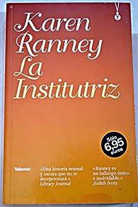 La institutriz par Karen Ranney.