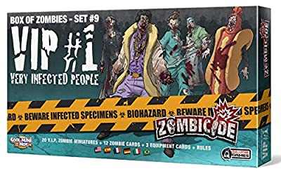 Zombicide - Box of Zombies - Set 9 - VIP 1 - Very Infected People