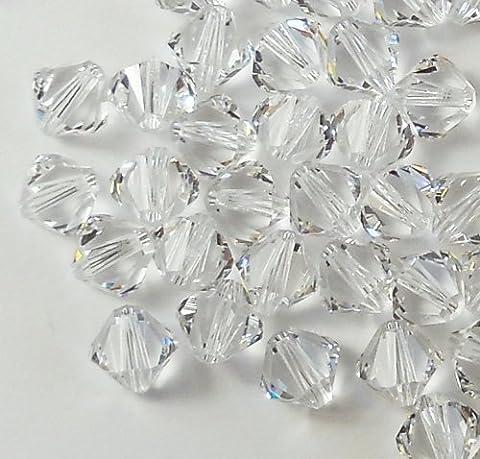 Swarovski Elements perles toupies 4mm xillian 144pièces par les passions Distributeur de cristaux fabriqué en Autriche Xillion Coupe 5328