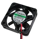 Fan/Ventilador 24V 1,4W 40x40x10mm 11,9m³/h 27dBA ; Sunon KDE2404PFV2-11AB