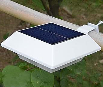 Lampe Solaire De Toit LED avec Détecteur Automatique de Mouvements Numérique/Lumière Solaire Exterieur De Mur Extérieur