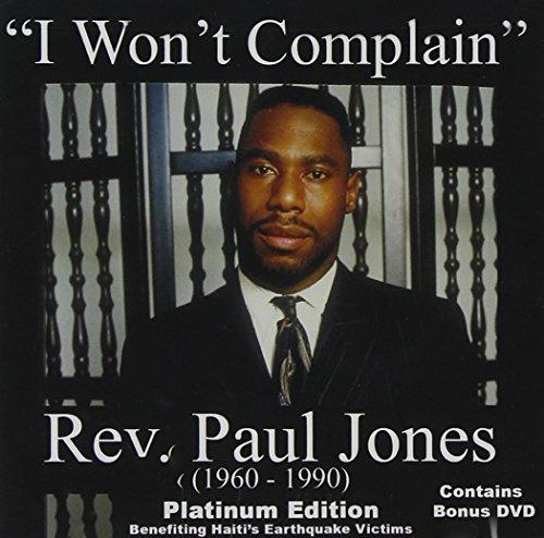 I Won't Complain (Bonus Dvd) by Paul Jones (Commemorative Anniversary Platinum Edition) (2010-04-27) -