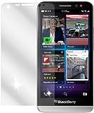 dipos Blackberry Z30 Schutzfolie (2 Stück) - kristallklare Premium Folie Crystalclear