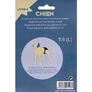- Culotte de protection pour chien lavable