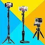 Best I Phone Selfie Stick - DEALPICK Combo Of YT 1288 Bluetooth Selfie Stick Review