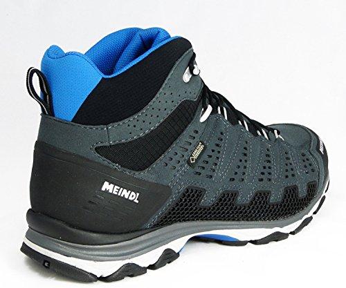 Meindl X-SO 70Mid GTX Surround Chaussures de randonnée pour hommeBleu/orange - Gris